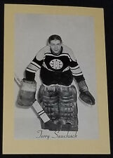 1944/64 - BEEHIVE GROUP II - TERRY SAWCHUCK - BOSTON BRUINS - NHL - PHOTO