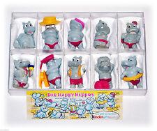 Die Happy Hippos Überraschungseier Komplettsätze
