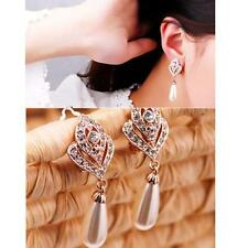 Rhinestone Ear Stud Earrings Charm New 1 Pair Fashion Women Elegant Crystal