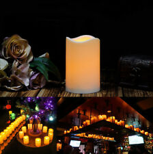 100-Pack LED LIGHT Candle flameless Fountain Light with Timer Battery Operated