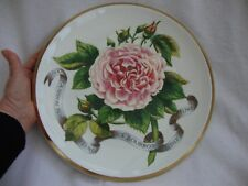A LIMITED COLLECTABLE PORTMEIRION LARGE CHARGER PLATE THE ROMANCE OF THE ROSE