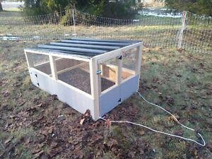 Chicken Cruiser - Mobile Chicken Coop
