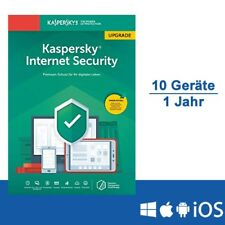 Kaspersky Internet Security 2019 Upgrade - Multi-Device, 10 Geräte - 1 Jahr, ESD