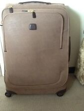 BRICS SUITCASE TROLLEY SPINNER INC COVER - 82x54x35CM - RRP +£500 MADE IN ITALY