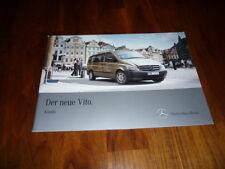 Mercedes Benz Vito KOMBI Prospekt 01/2010