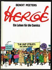 Hergé - Ein Leben für die Comics - Carlsen 1983 - 1. Auflage - Zustand 0-