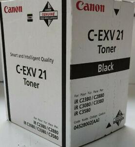 Original Canon C-EXV 21 Black 0452B002[AA1 Toner für Canon iR-C2380, iR-C2880..