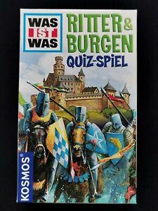Ritter & Burgen Quiz Spiel Reisespiel Mitbringsel Kartenspiel KOSMOS