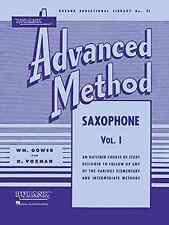 Hal Leonard 04470370 Rubank Advanced Method: Saxophone Vol. 1