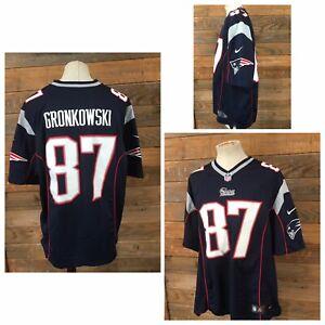 Nike Rob Gronkowski #87 New England Patriots On Field Jersey Men's Adult XXL