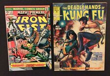 MARVEL PREMIERE IRON FIST #21 Comic 1st MISTY KNIGHT Deadly Hands Kung Fu #32