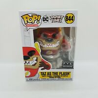 Funko POP Taz as The Flash 844 DC Looney Tunes FYE Exclusive