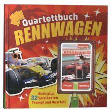 Quartettbuch Rennwagen 2011 Buch mit Rennwagenquartett Motorsport Auto Quartett
