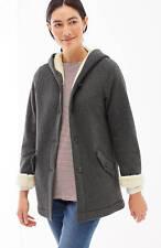 J. Jill - 2X(Plus) - Cozy & Comfy Dark Charcoal Heather Plush-Lined Knit Jacket