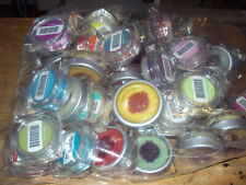 Authentic Scentsy Large Testers * Lots of 6 * Various Scents & Colors *