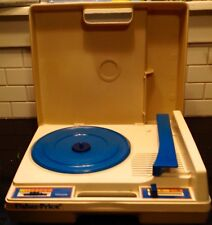 Vintage Fisher Price Portable Phonograph  Record Player Turntables 1978