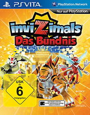 InviZimals: Das Bündnis (Sony PlayStation Vita, 2014, Keep Case)