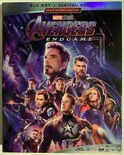 DISNEY MARVEL AVENGERS ENDGAME BLU RAY & BONUS 2 DISC SET + SLIPCOVER SLEEVE BUY