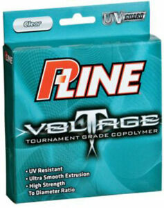 P-Line Voltage Invisible Tournament Grade CoPolymer Fishing Line 300 yards