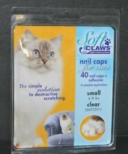 Soft Claws Nail Caps for Cats Clear for Small Cats Brand New
