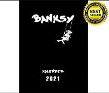 Original Banksy Streetart Wandkalender 2021