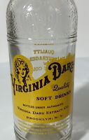Rare Vintage Yellow VIRGINIA DARE Old Soda Bottle CORINTH MS Noel Bottling Works