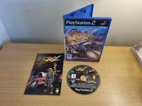 PLAYSTATION 2 - PS2 - JAK X - COMPLETE WITH MANUAL - FREE P&P