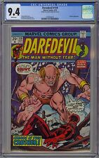 Daredevil #119 CGC 9.4 NM Wp Vs. Crusher Marvel Comics 1975 Black Widow App