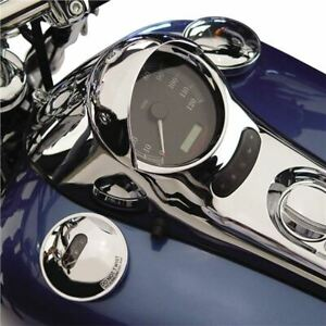 National Cycle Speedometer Cowl for Harley Davidson V-Twin - N7840