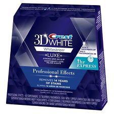 Crest 3D Whitestrips Professional Effects 20 Treatments - BONUS Express *OPENED*