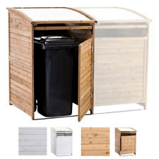 Mülltonnenbox MX240 Erweiterung SX240 Holz Mülltonnenverkleidung Unterstellung