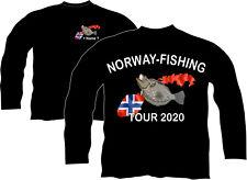 Anglerjacke Norwegen Jacke Pullover Norge Fishing Angelreise Urlaub Angeln 22