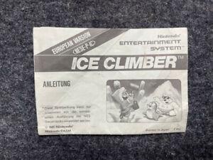 Ice Climber Anleitung - Nintendo NES - PAL - Deutsch - Bienengräber