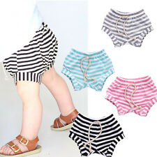 Baby Boys Girls Shorts PP Pants Bloomers Cotton Leisure Bottoms Trousers Sz 0-4