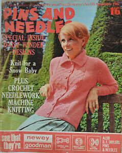 PINS AND NEEDLES 1967 Craft Magazine No 178 with Daisy Winder Supplement