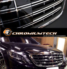 2014-16 W222 S-Class AMG/Maybach Look grille S350 S400 S550 S65 for Night Vision