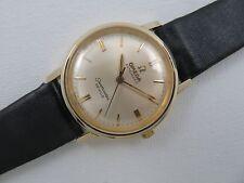 1964 Boy Size OMEGA SEAMASTER DEVILLE AUTOMATIC Wristwatch 14K Gold Filled