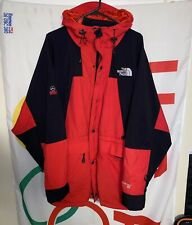 Vintage Men's The North Face Gore-Tex Summit Series Jacket 2XL Black/Red 90s