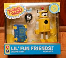 Yo Gabby Gabba Plex Lil' Fun Friends Character Figure & Accessories Set NEW 2008