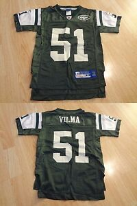 Youth New York Jets Jonathan Vilma S (8) Jersey Reebok Jersey