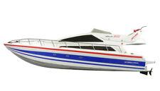 RC Rennboot Speedboot Atlantic Yacht 73cm Lang inkl. Akku + Ladegerät NEU