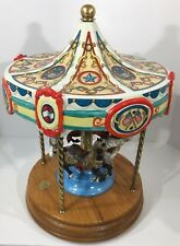 4 Horse Working American Carousel Horse by Tobin Fraley Limited Edition