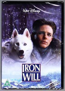 IRON WILL (1994) - Disney DVD Region 4 (AUS) New & Sealed