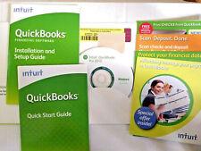 Intuit Quickbooks Pro 2010 for Windows Financial Software Windows XP Vista 7