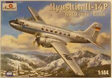 Amodel 1/144 IL14P Nato Code Crate Lufthansa Personell Cargo Aircraft Model Kit
