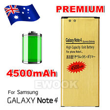 4500 mAh High Capacity Battery Replacement for Samsung Galaxy NOTE 4 N9100 N910G