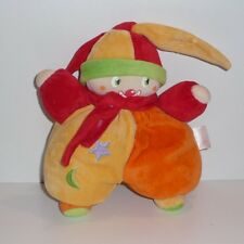 Doudou Poupée Lutin Clown Corolle - Lune Etoile