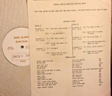 Radio Show: DICK CLARK GOLD #39 BABIES! RICKY NELSON, PAT BOONE, ROY ORBISON