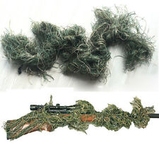 3D Camouflage Woodland Rifle Gun Wrap Cover For Yowie Ghillie Sniper Paintball