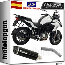 Arrow tubo escape Omologado Race-tech Carby negro Benelli Trk 502 2017 17